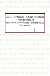 IELTS - Write Right