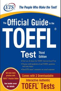 McGraw-Hill Companies The Official Guide to the TOEFL Test. Third Edition