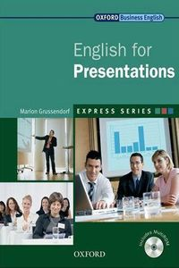 Marion Grussendorf (Oxford University Press) English For Presentations (Express Series)