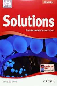 Tim Falla, Paul A Davies (Oxford University Press) Solutions Pre-Intermediate