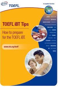 Educational Testing Service TOEFL iBT Tips