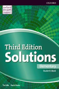 Oxford University Press Solutions Elementary 3rd edition (Exam Support)