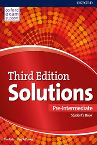 Oxford University Press Solutions Pre-Intermediate 3rd edition (Exam Support)